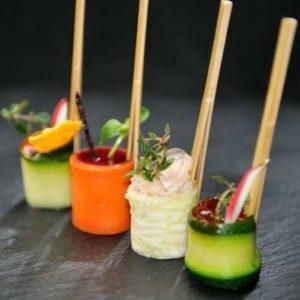 Pyramide de légumes pour vos réceptions à Paris et Ile de France